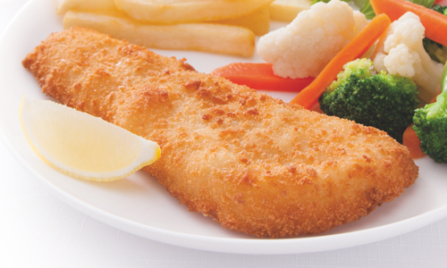 Crumbed Fish